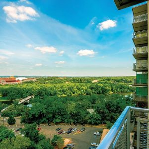 The Colony House Apartments For Rent in New Brunswick, NJ Balcony