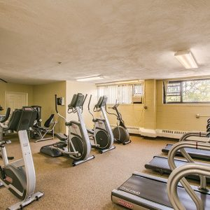 The Colony House Apartments For Rent in New Brunswick, NJ Gym